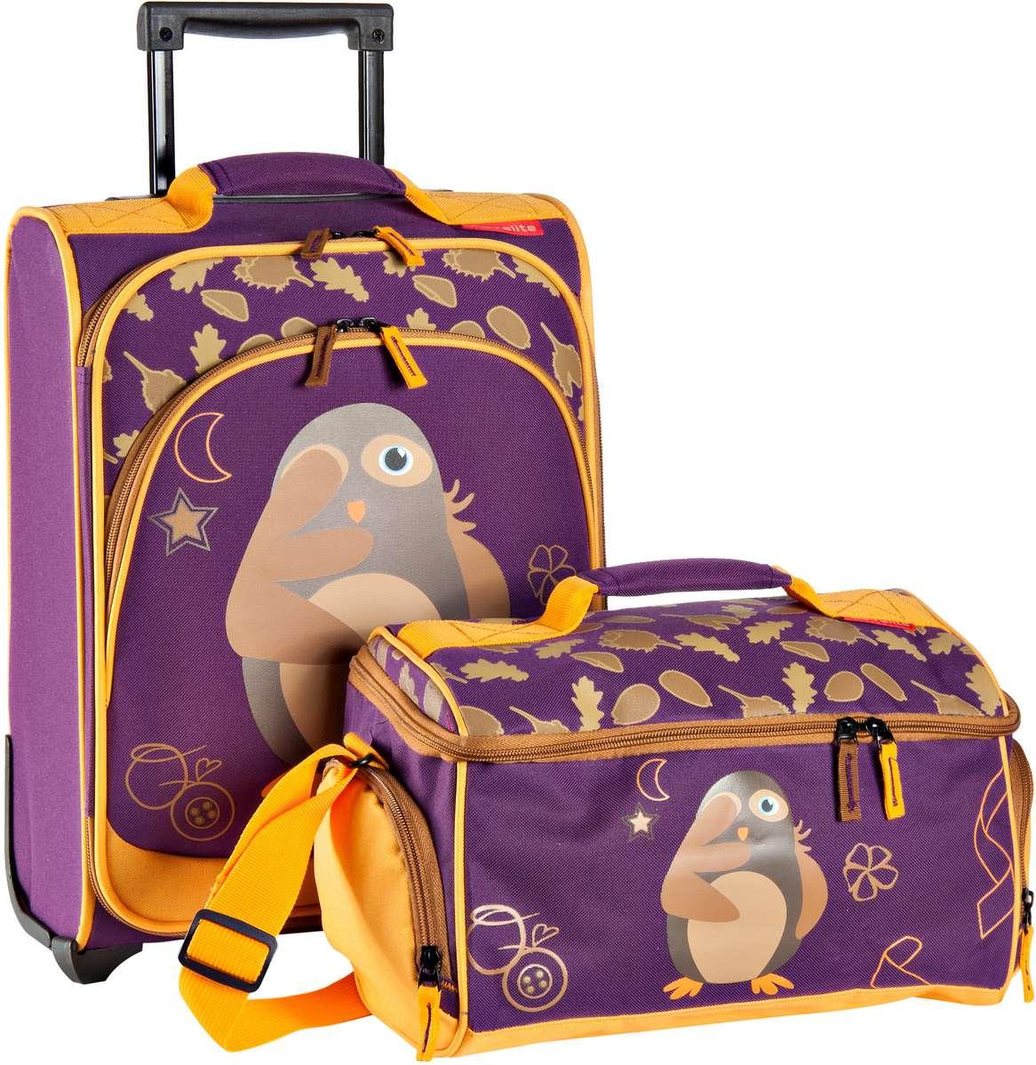 travelite Youngster Trolley Set Kauz - Reisegepäck für Kinder Sale Angebote Guhrow