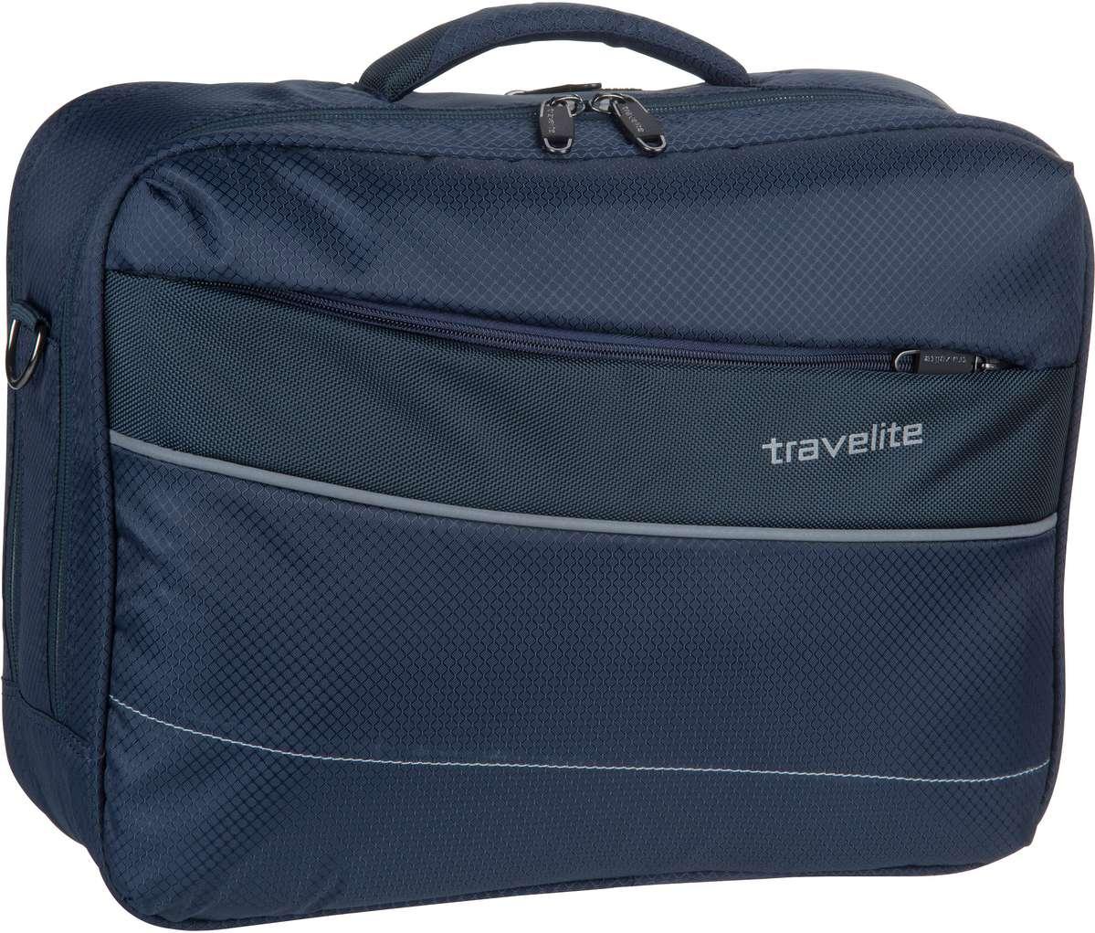 Businesstaschen für Frauen - travelite Kite Bordtasche Marine Aktentasche  - Onlineshop Taschenkaufhaus