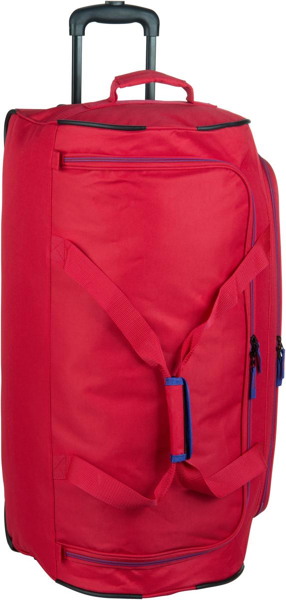 travelite Basics Trolley Reisetasche Rot Rollenreisetasche