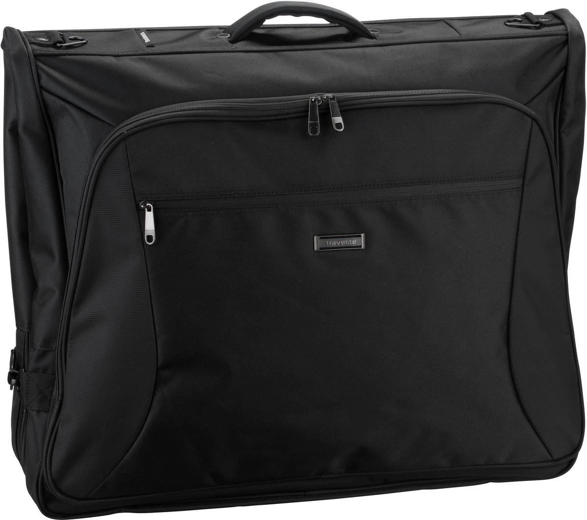 travelite Kleidersack Mobile Kleidersack Business Schwarz (60 Liter)