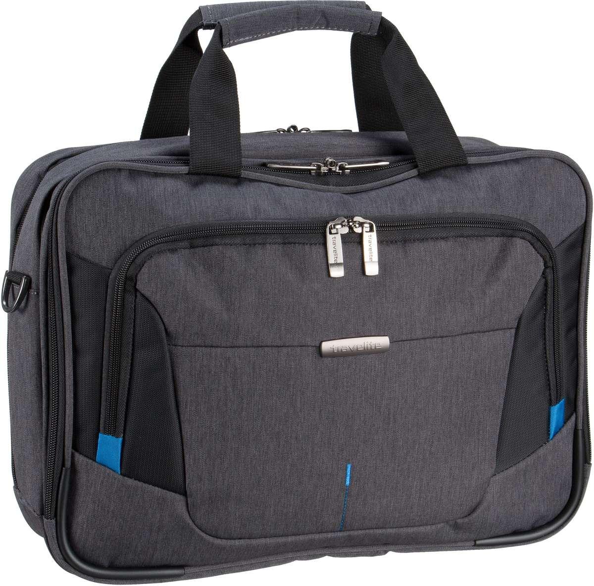 Businesstaschen für Frauen - travelite Aktentasche @Work Businesstasche Anthrazit (16 Liter)  - Onlineshop Taschenkaufhaus