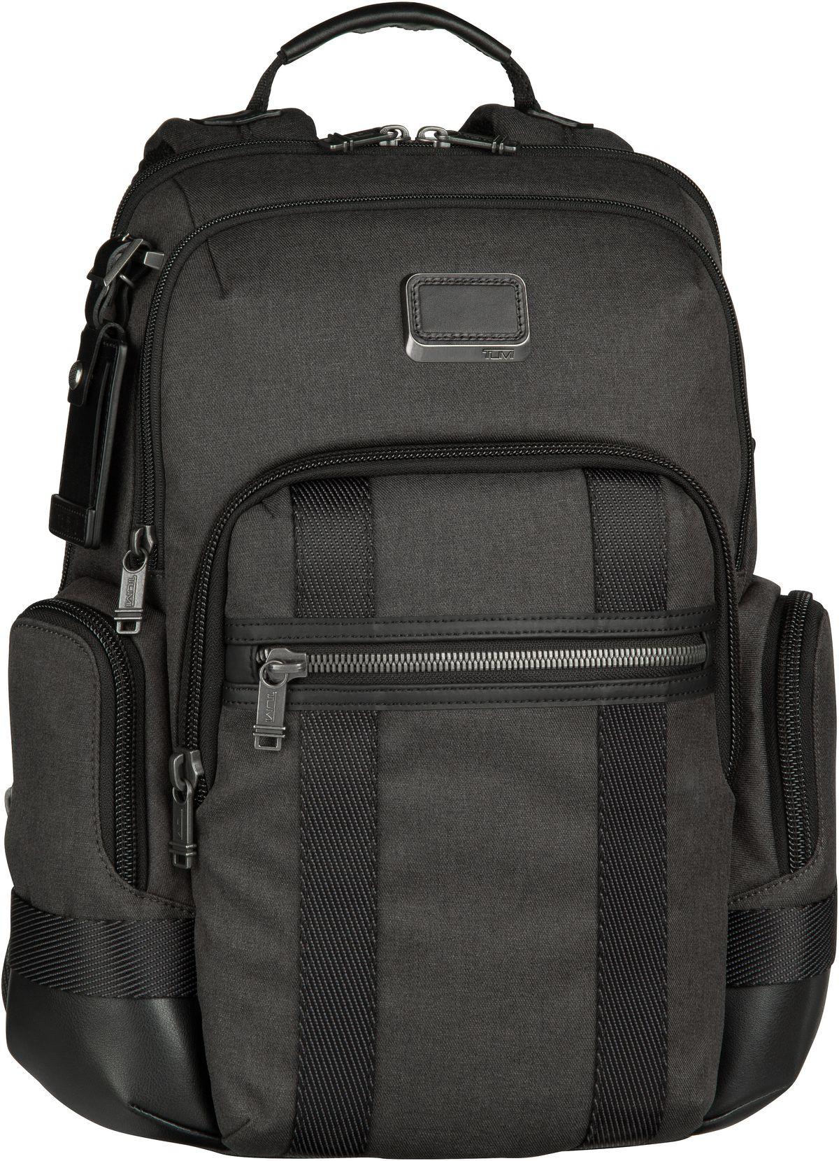 Rucksack / Daypack Alpha Bravo 232693 Nathan Backpack Graphite