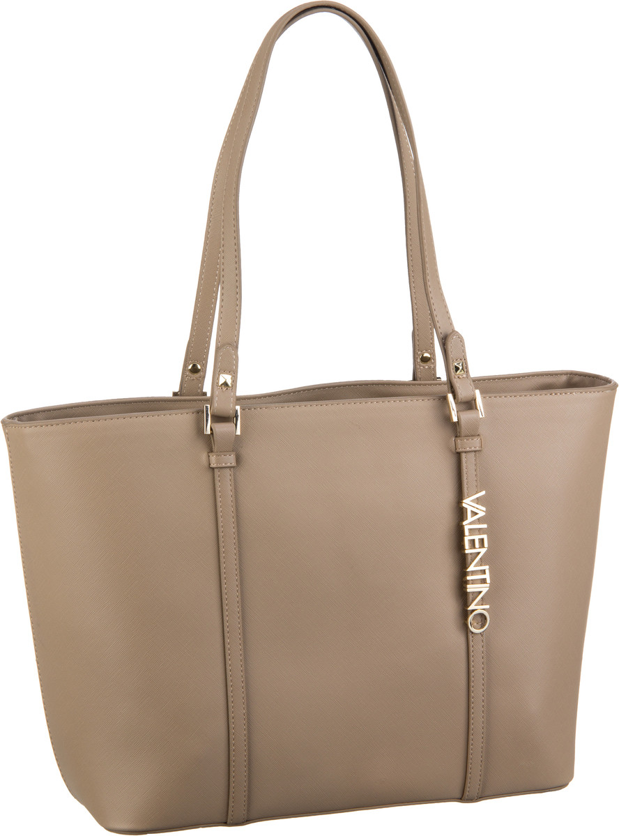 Shopper für Frauen - Valentino Shopper Sea Winter Shopping Q01 Taupe  - Onlineshop Taschenkaufhaus