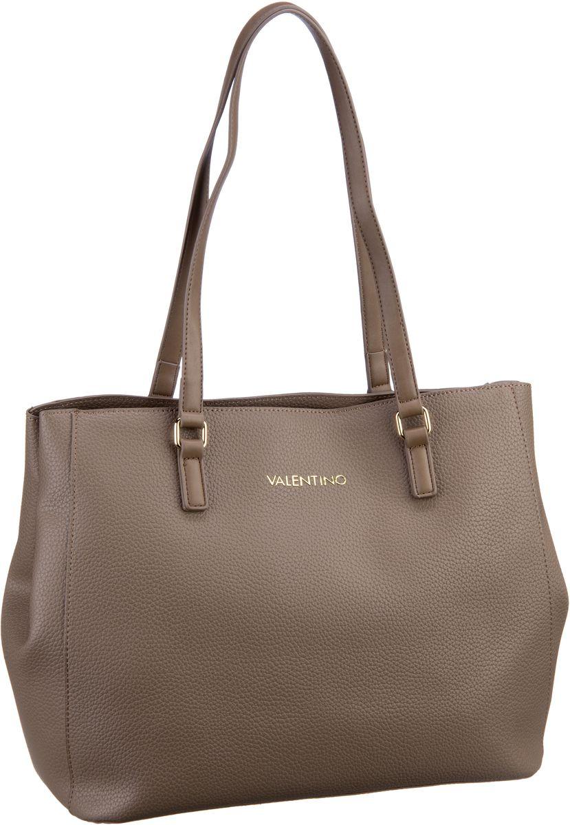 Shopper für Frauen - Valentino Shopper Superman Shopping U801 Taupe  - Onlineshop Taschenkaufhaus