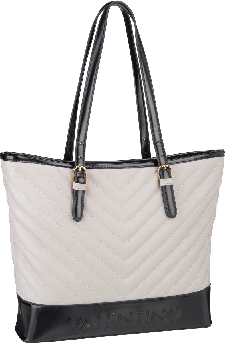 Valentino Shopper Chocolat Shopping O01 Grigio/Nero