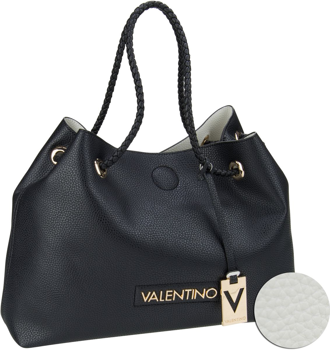 Handtasche Corsair Shopping D02 Nero/Bianco
