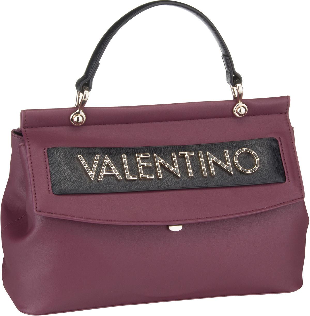Bags Handtasche Fisarmonica Cartella X02 Prugn/Nero