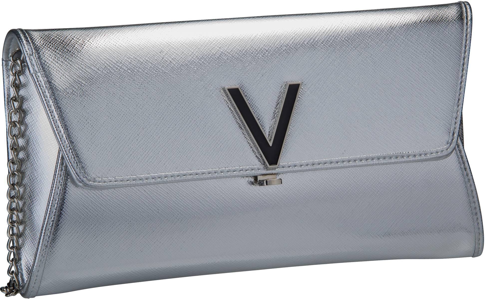 Clutches - Valentino Bags Abendtasche Clutch Flash Pochette J01 Argento  - Onlineshop Taschenkaufhaus