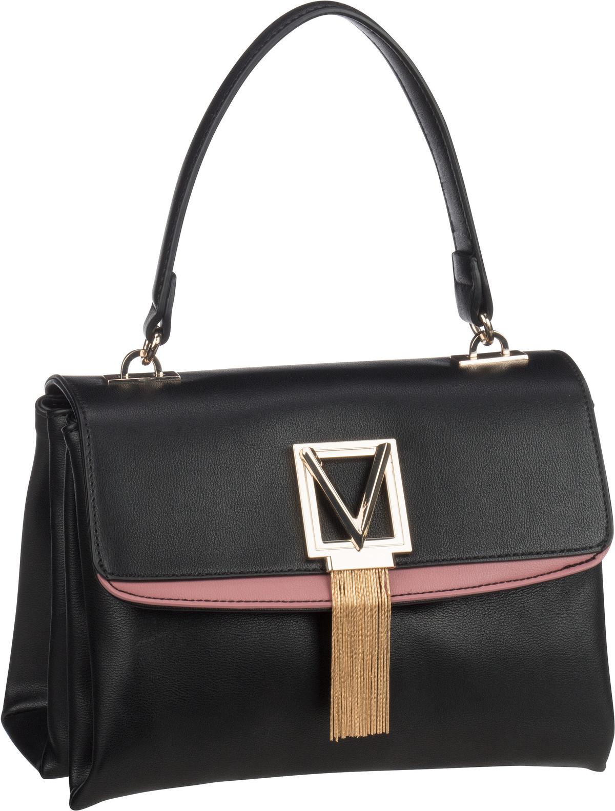 Bags Handtasche Satiro Cartella B02 Nero/Rosa