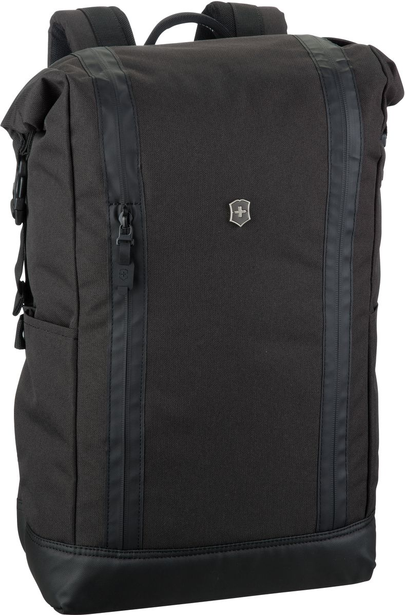 Rucksack / Daypack Rolltop Laptop Backpack Black (20 Liter)