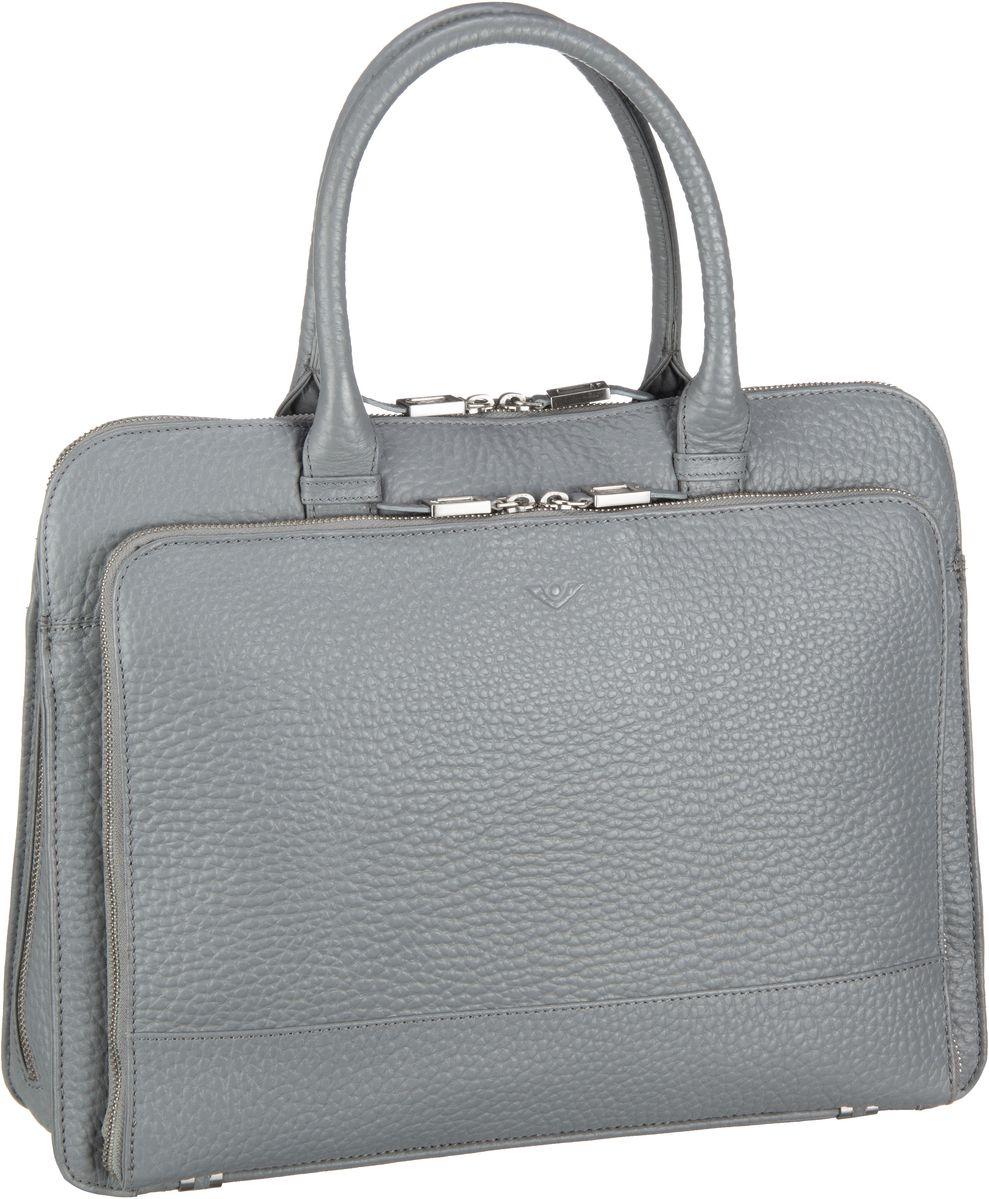 Businesstaschen für Frauen - Voi Aktentasche Hirsch 21877 Laptop Tasche Smoke  - Onlineshop Taschenkaufhaus