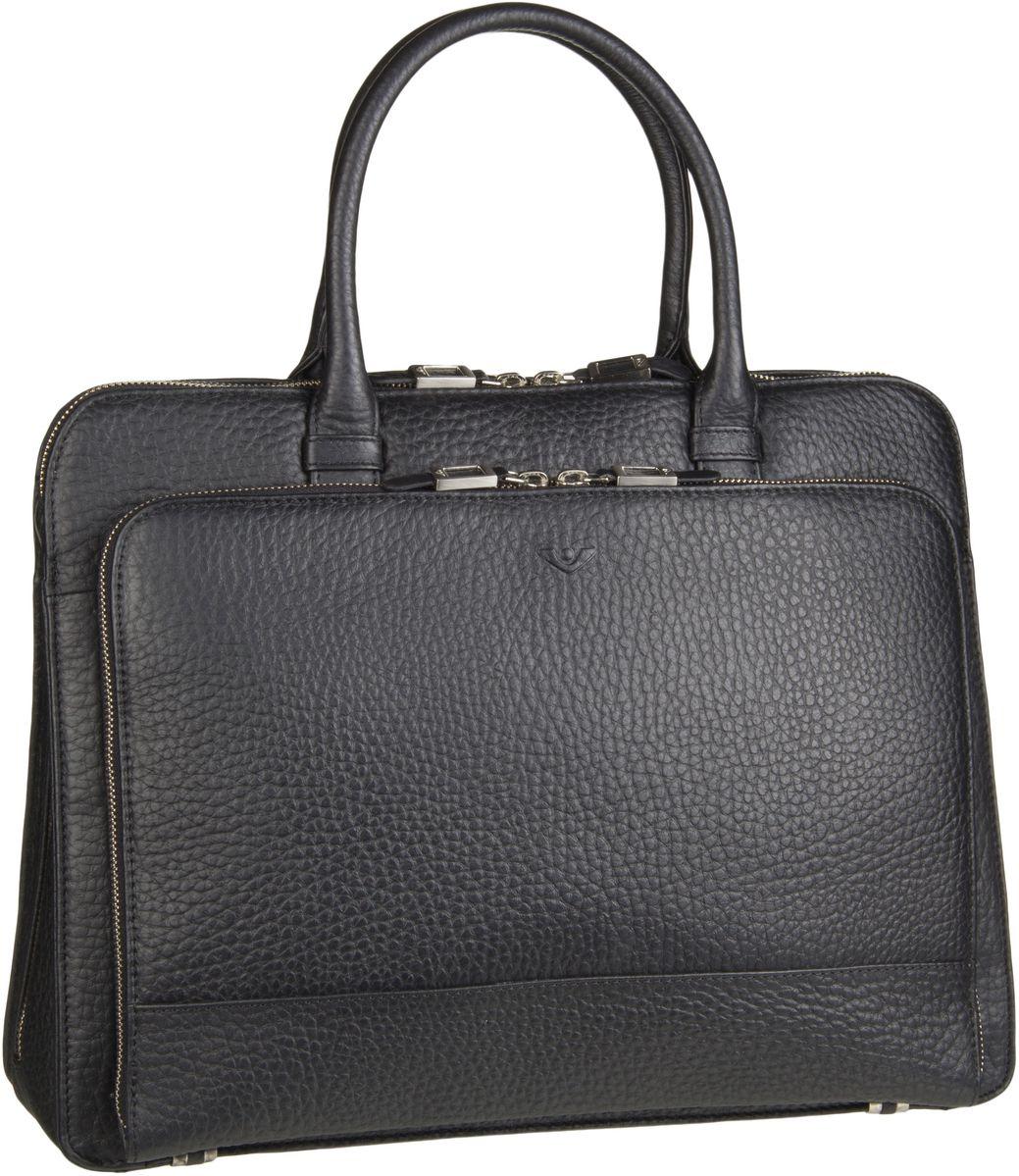Businesstaschen für Frauen - Voi Hirsch 21877 Laptop Tasche Schwarz Aktentasche  - Onlineshop Taschenkaufhaus