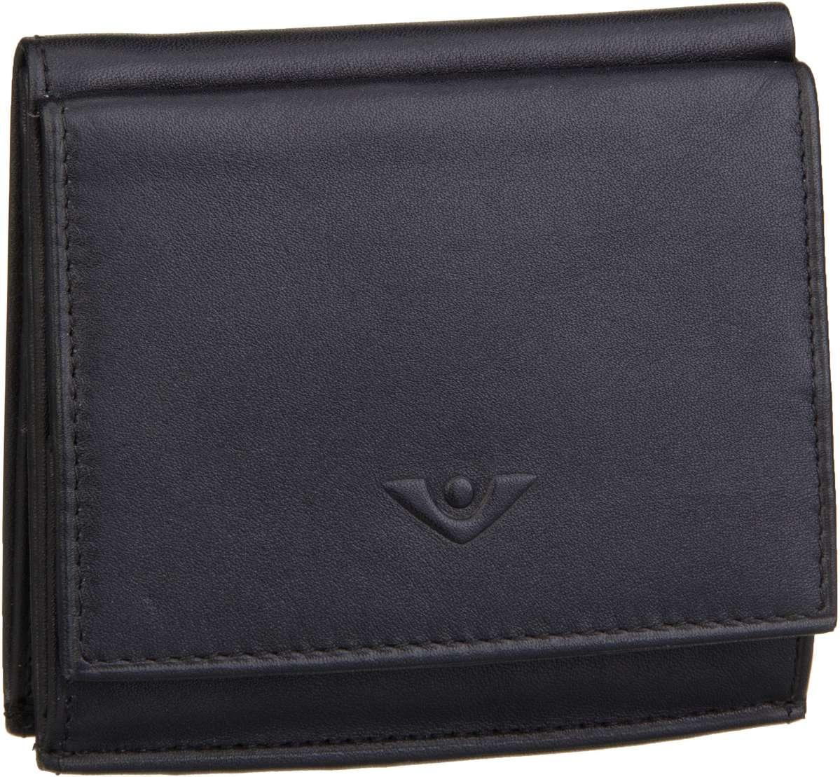 Geldboersen für Frauen - Voi Geldbörse Soft 70024 Wienerschachtel Schwarz  - Onlineshop Taschenkaufhaus