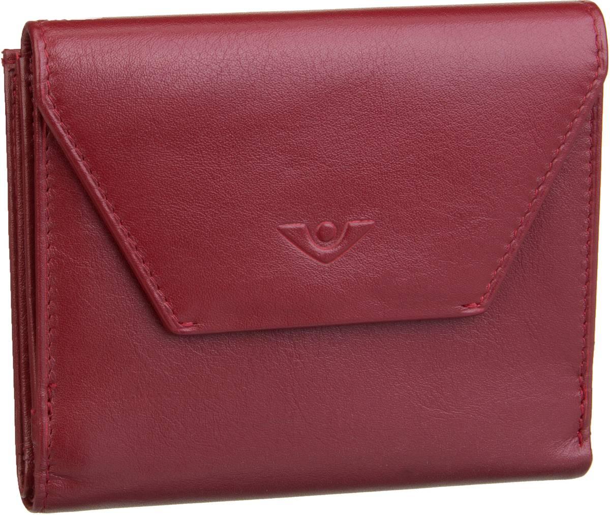 Geldboersen für Frauen - Voi Geldbörse Soft 70007 Börse Granat  - Onlineshop Taschenkaufhaus