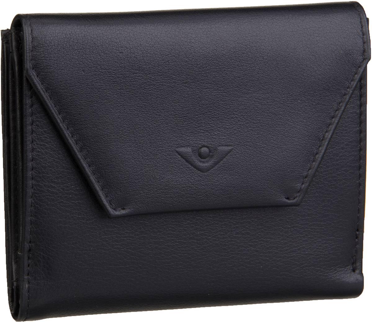 Geldboersen für Frauen - Voi Geldbörse Soft 70007 Börse Schwarz  - Onlineshop Taschenkaufhaus