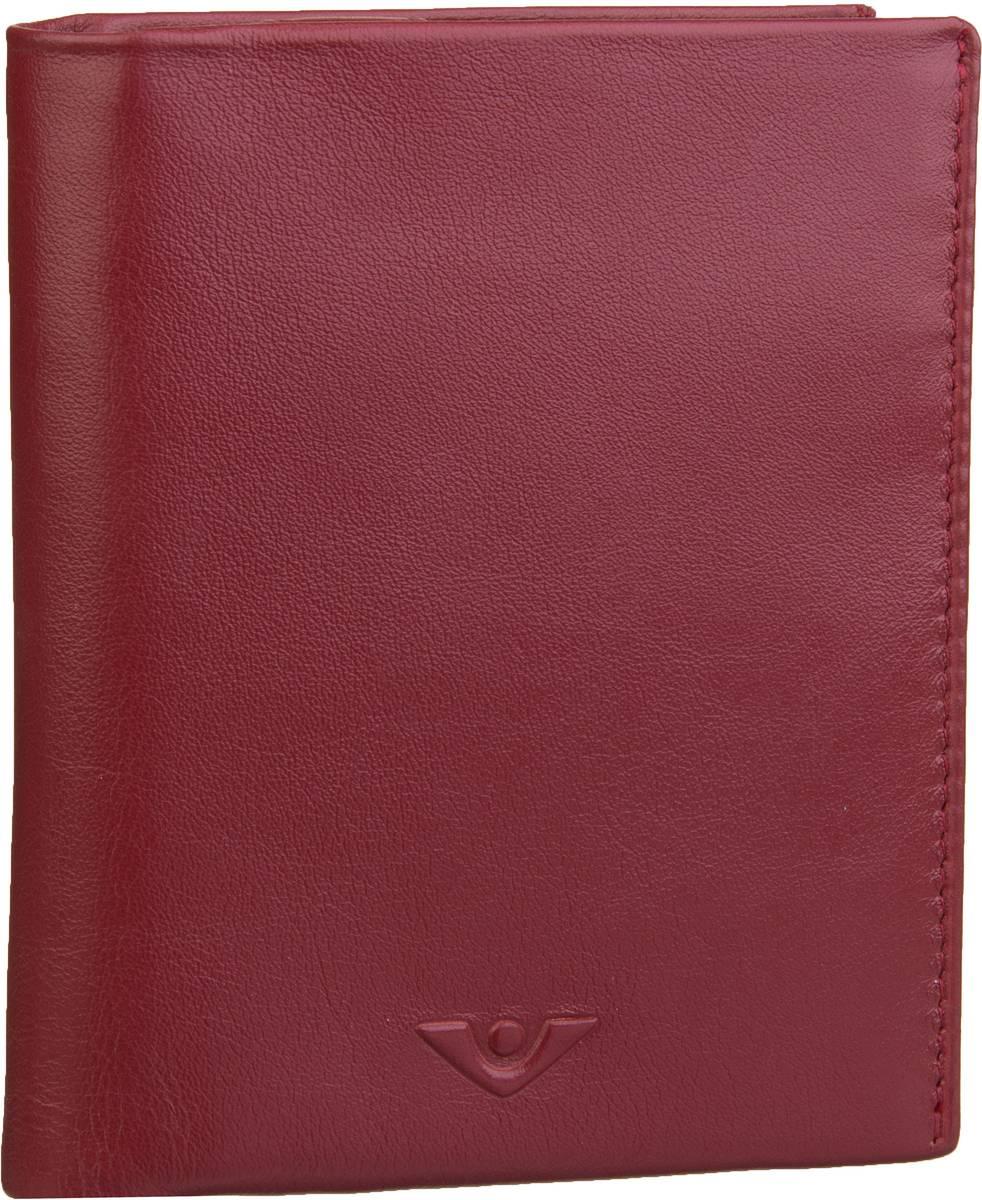 Geldboersen für Frauen - Voi Geldbörse Soft 70312 Kombibörse Granat  - Onlineshop Taschenkaufhaus