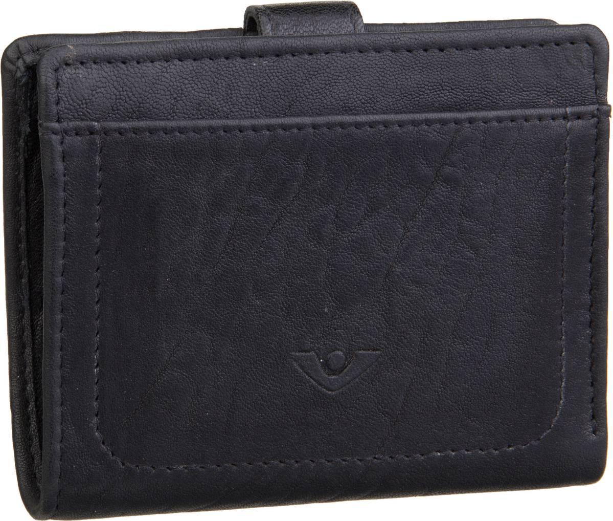 Geldboersen für Frauen - Voi Geldbörse New Zealand 70815 Kombibörse Schwarz  - Onlineshop Taschenkaufhaus