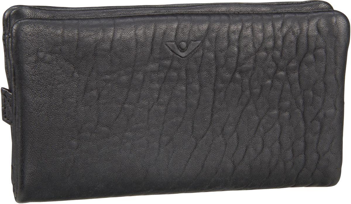 Geldboersen für Frauen - Voi Kellnerbörse New Zealand 70816 Damenbörse Schwarz  - Onlineshop Taschenkaufhaus