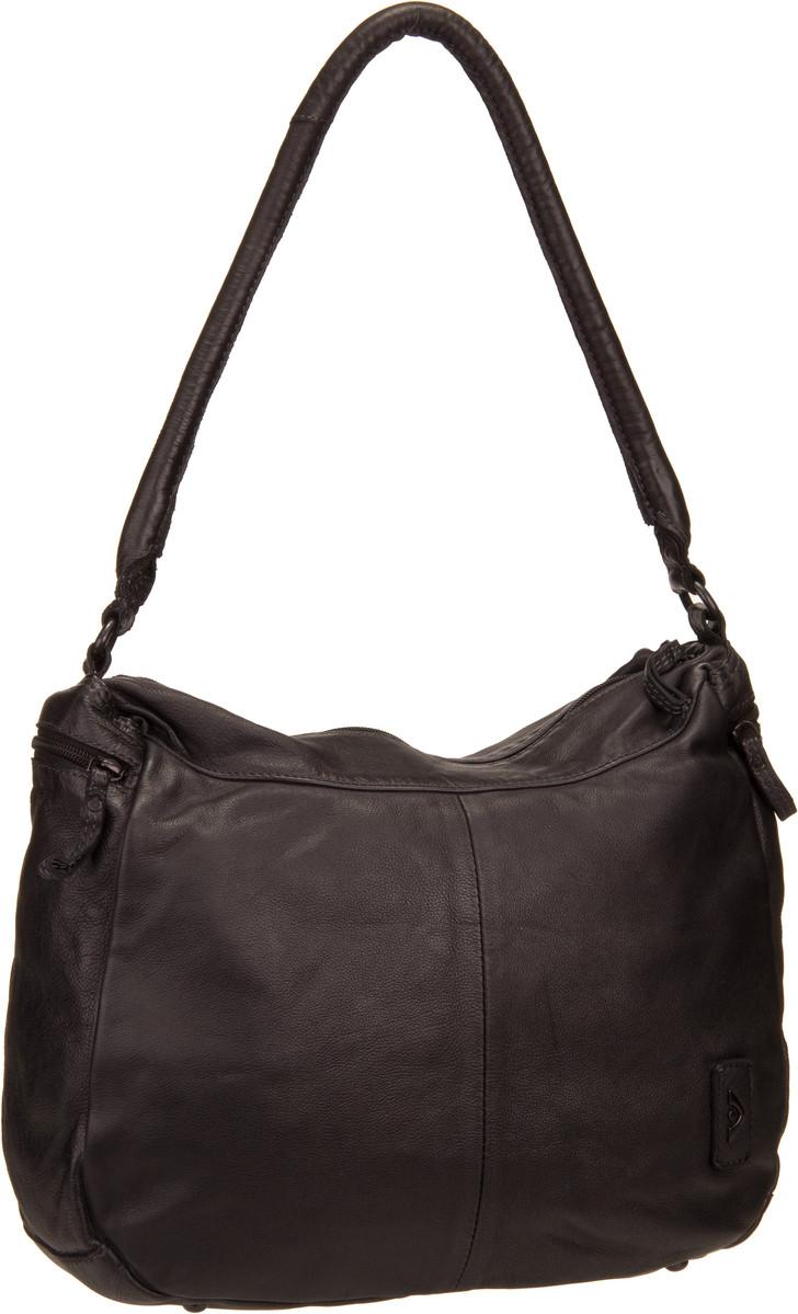 Handtaschen für Frauen - Voi Handtasche Casual 21124 Beutel Schwarz  - Onlineshop Taschenkaufhaus