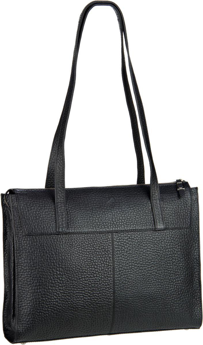 Handtaschen für Frauen - Voi Handtasche Hirsch 21917 Shopper Schwarz  - Onlineshop Taschenkaufhaus