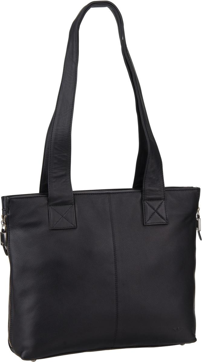 Shopper für Frauen - Voi Shopper Soft 21545 RV Tasche A4 Schwarz  - Onlineshop Taschenkaufhaus
