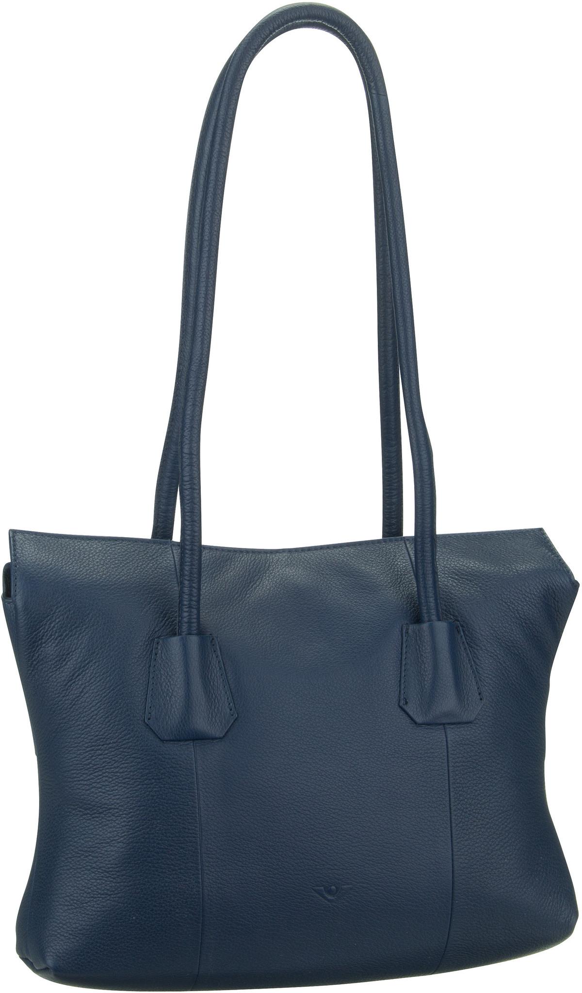 Voi Handtasche Deluxe 30462 Hobo Bag Blau