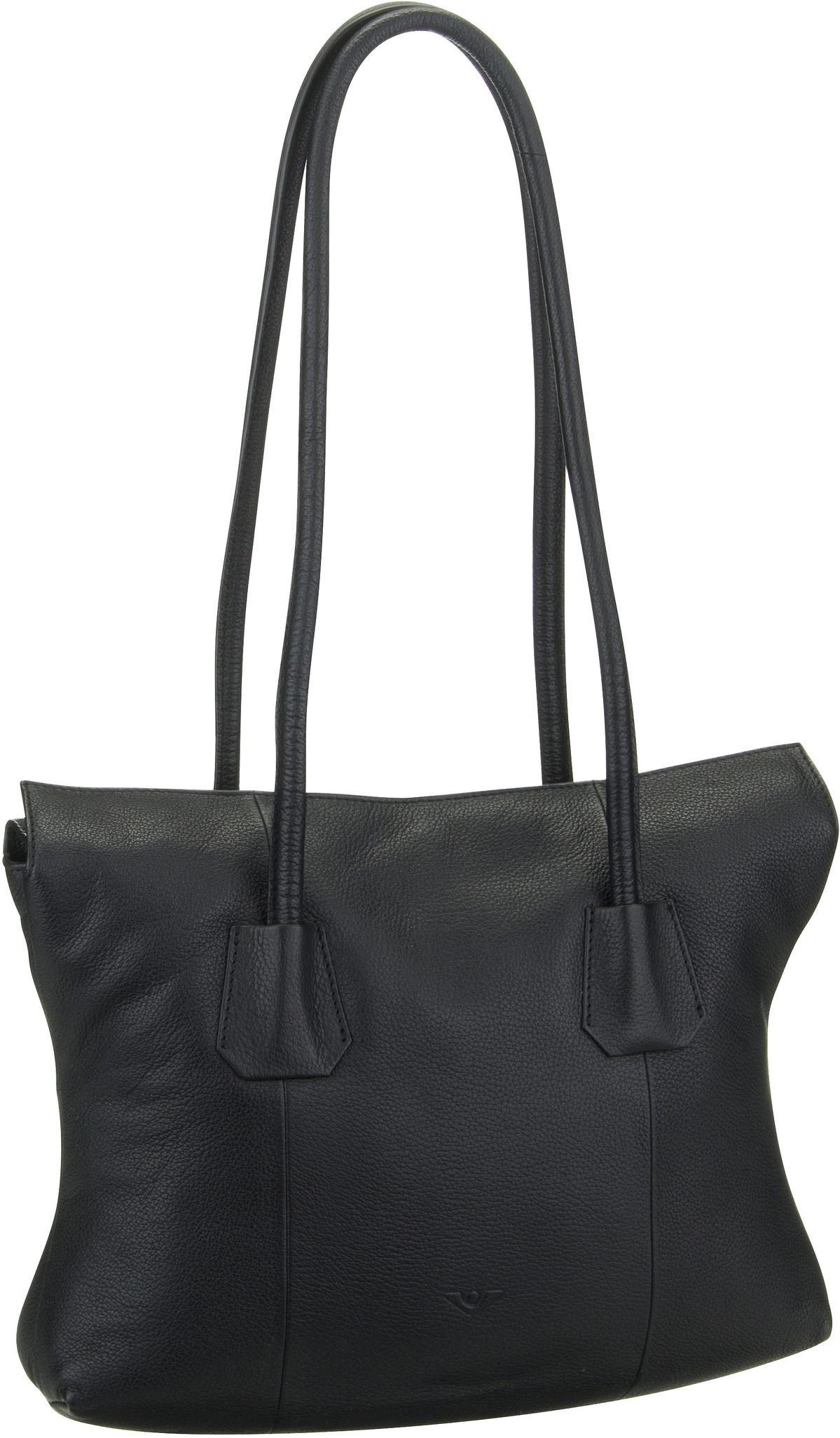 Voi Handtasche Deluxe 30462 Hobo Bag Schwarz