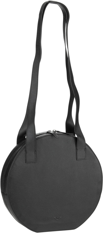 Voi Handtasche Classico 30603 Hobo Bag Schwarz