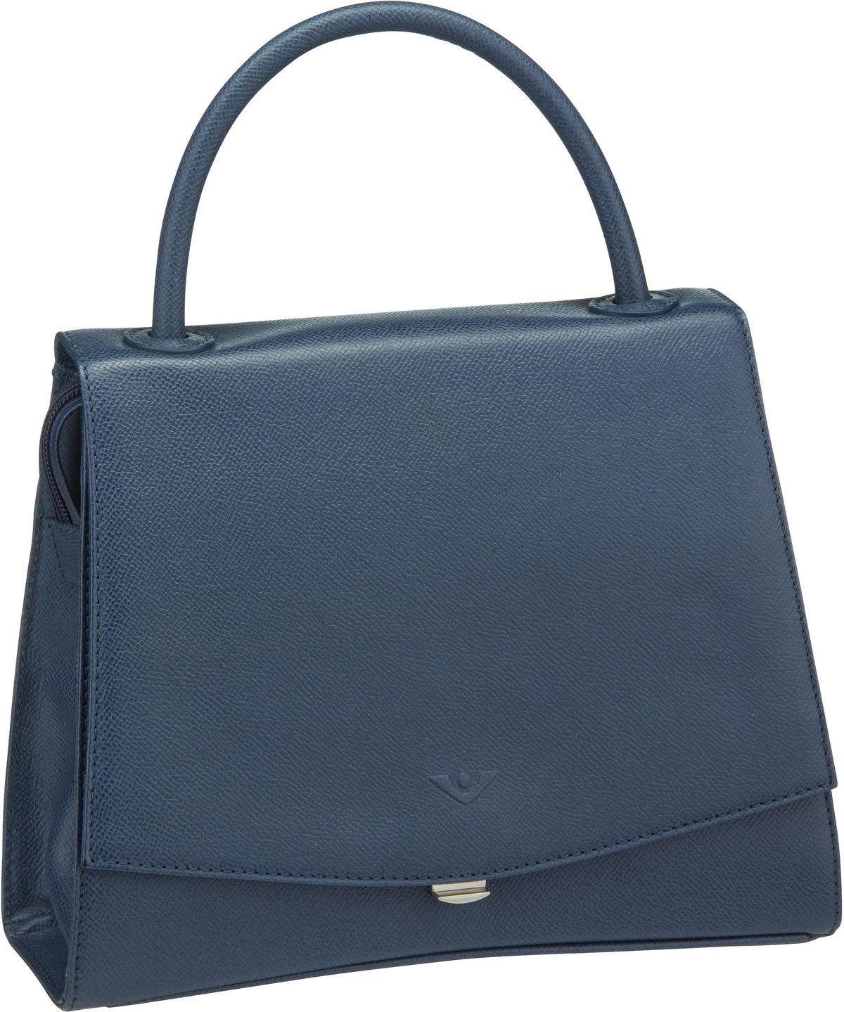 Voi Handtasche Classico 30602 Kurzgrifftasche Blau