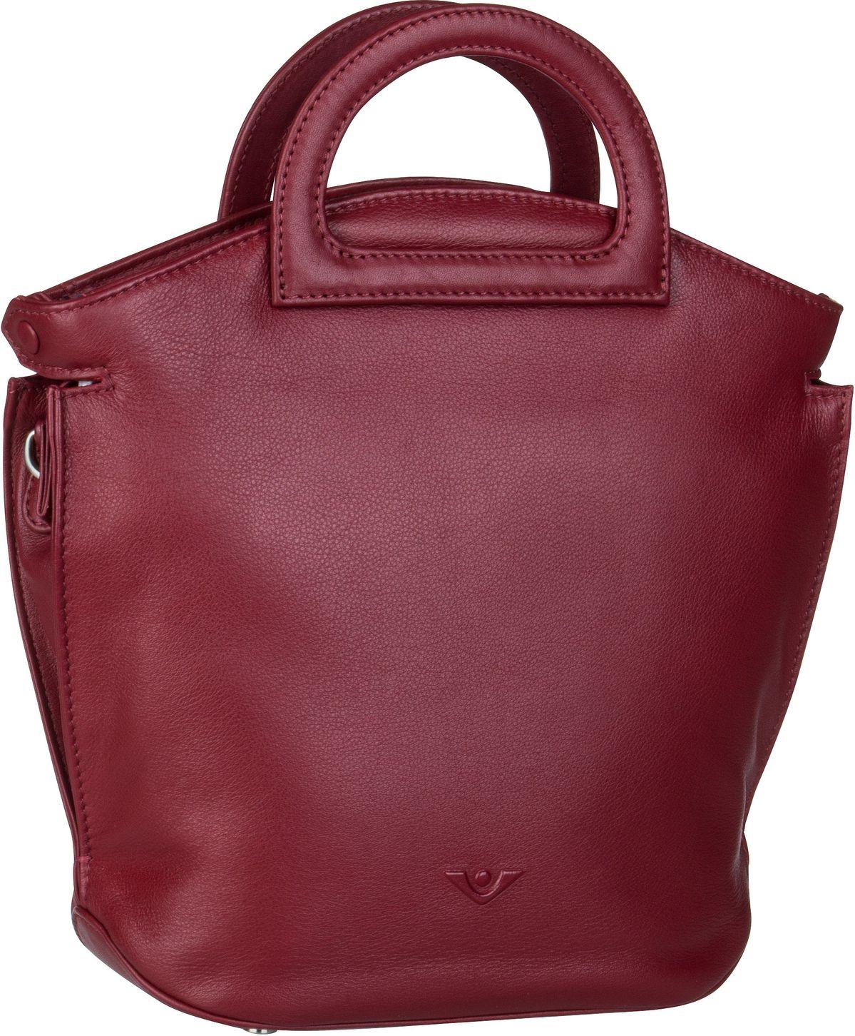 Voi Handtasche Soft 21549 Kurzgrifftasche Granat