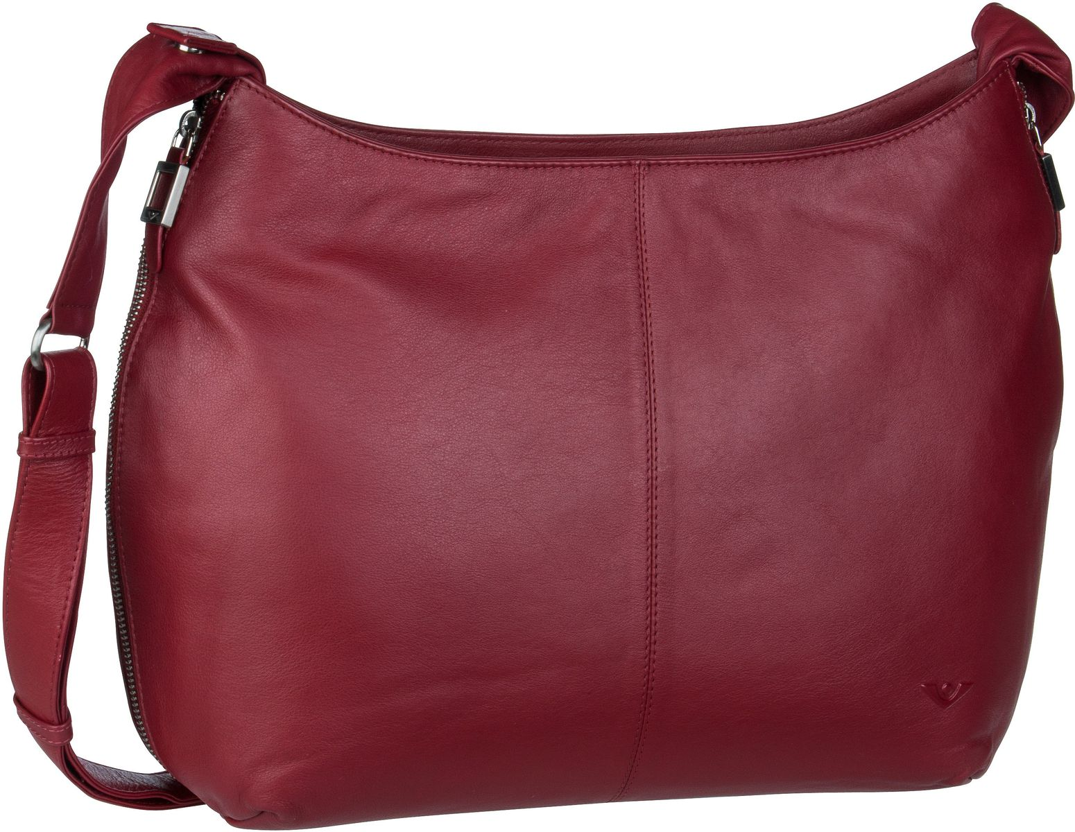 Voi Umhängetasche Soft 21553 Hobo Bag Granat