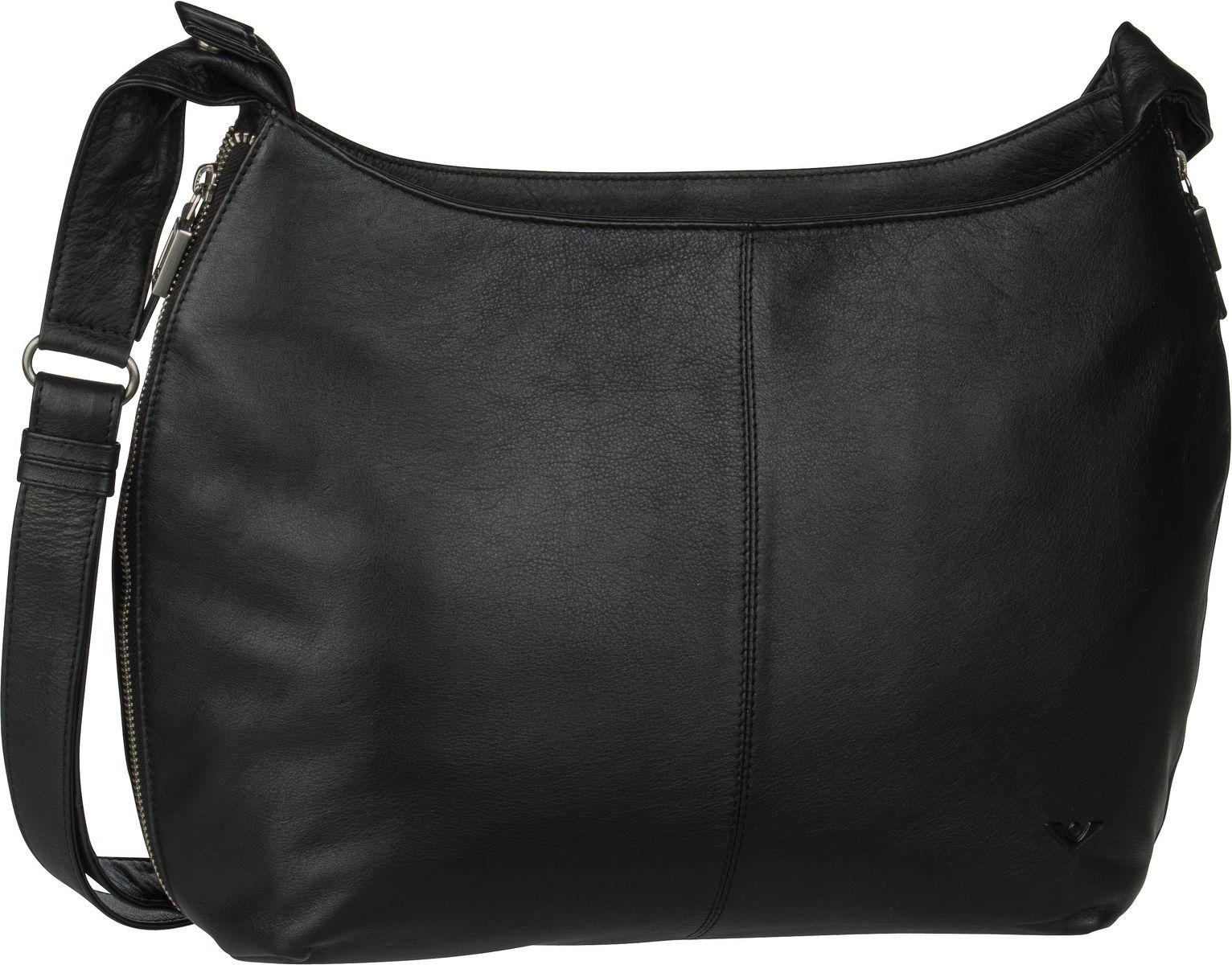 Voi Umhängetasche Soft 21553 Hobo Bag Schwarz