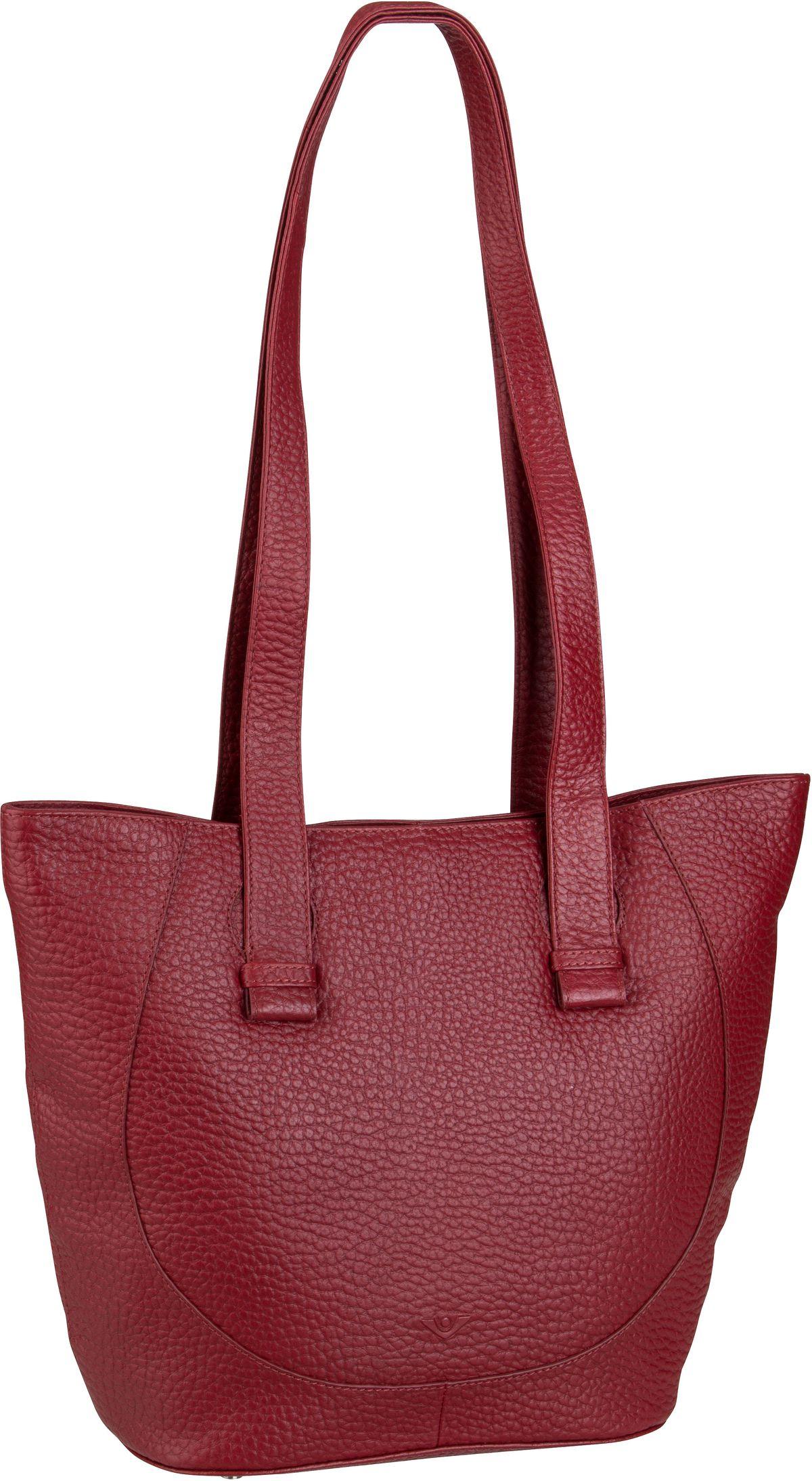 Voi Handtasche Hirsch 21962 Shopper Granat