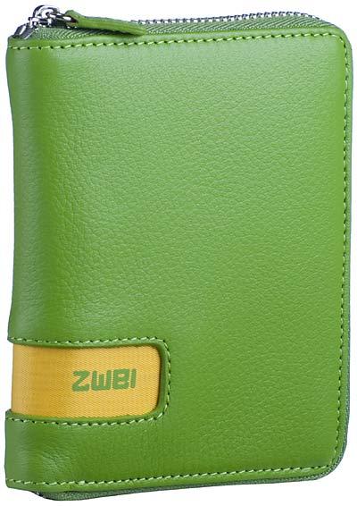 zwei Wallet W1 Green - Geldbörse