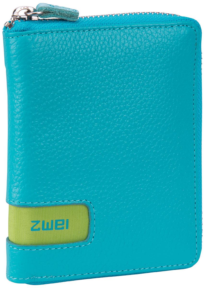 zwei Wallet W1 Turquoise - Geldbörse
