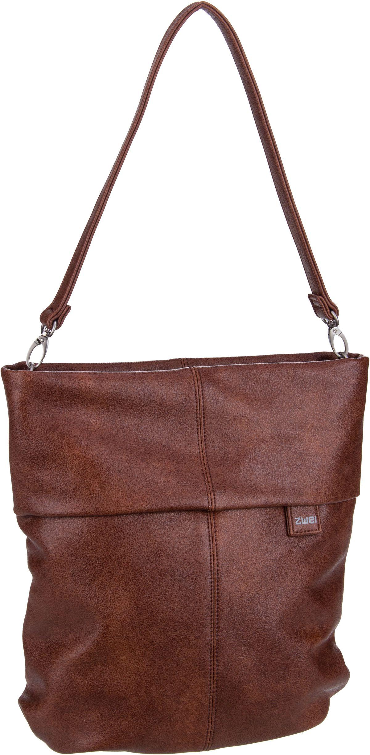 Handtasche Mademoiselle M12 Cognac (7 Liter)