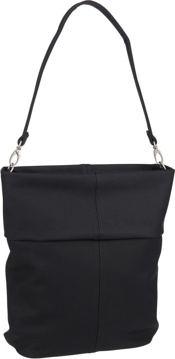 Handtasche Mademoiselle M12 Nubuk/Black (7 Liter)