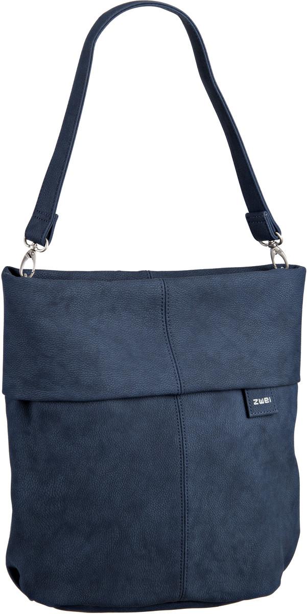 Handtasche Mademoiselle M12 Nubuk/Blue (7 Liter)