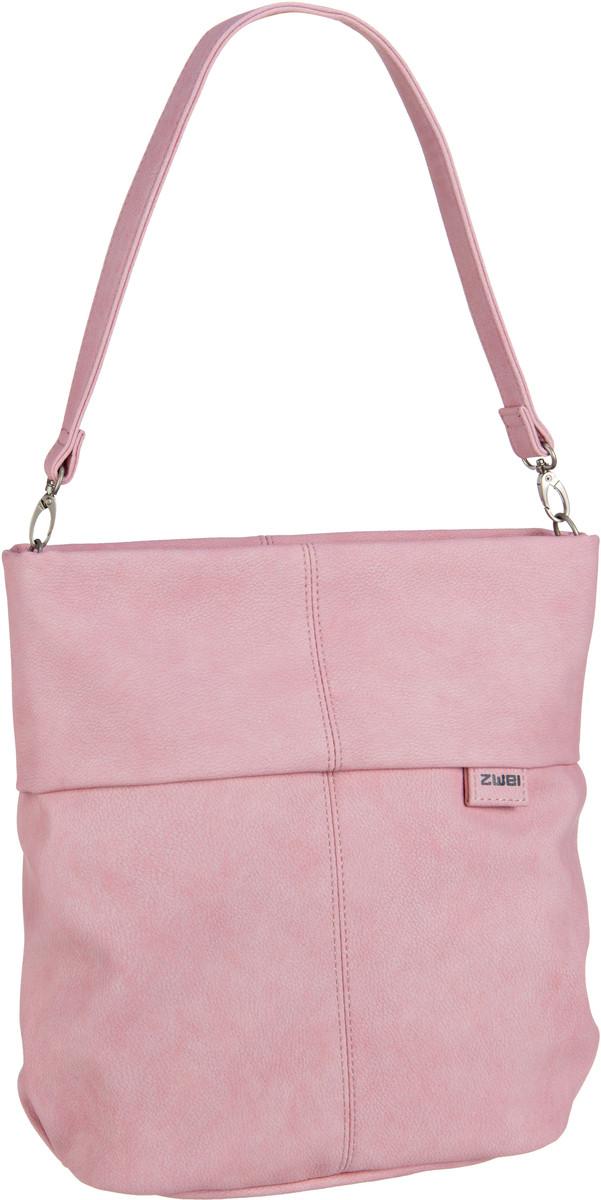 Handtasche Mademoiselle M12 Nubuk/Rose (7 Liter)