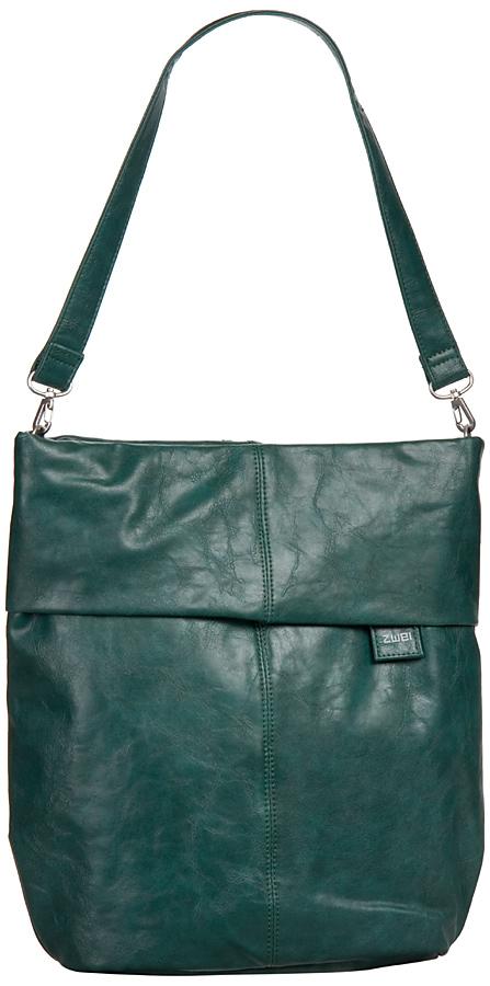 Griesen Angebote zwei Mademoiselle M12 Petrol (innen: Grau geblümt) - Handtasche