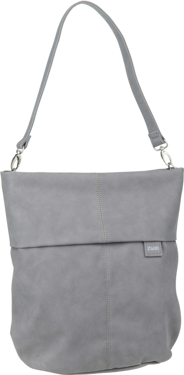Handtasche Mademoiselle M12 Velours/Grey (7 Liter)