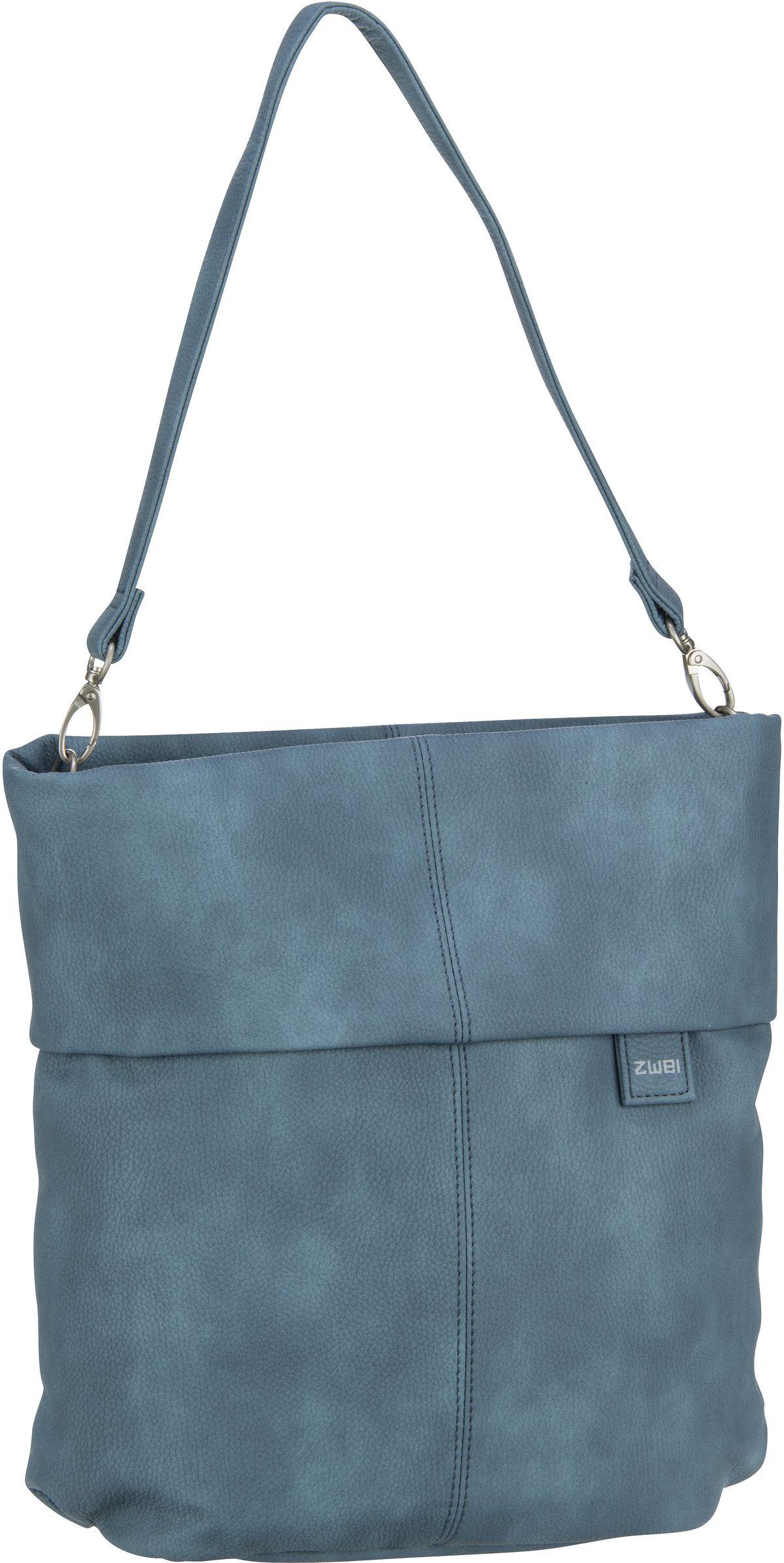 Handtasche Mademoiselle M12 Nubuk/Sea (7 Liter)