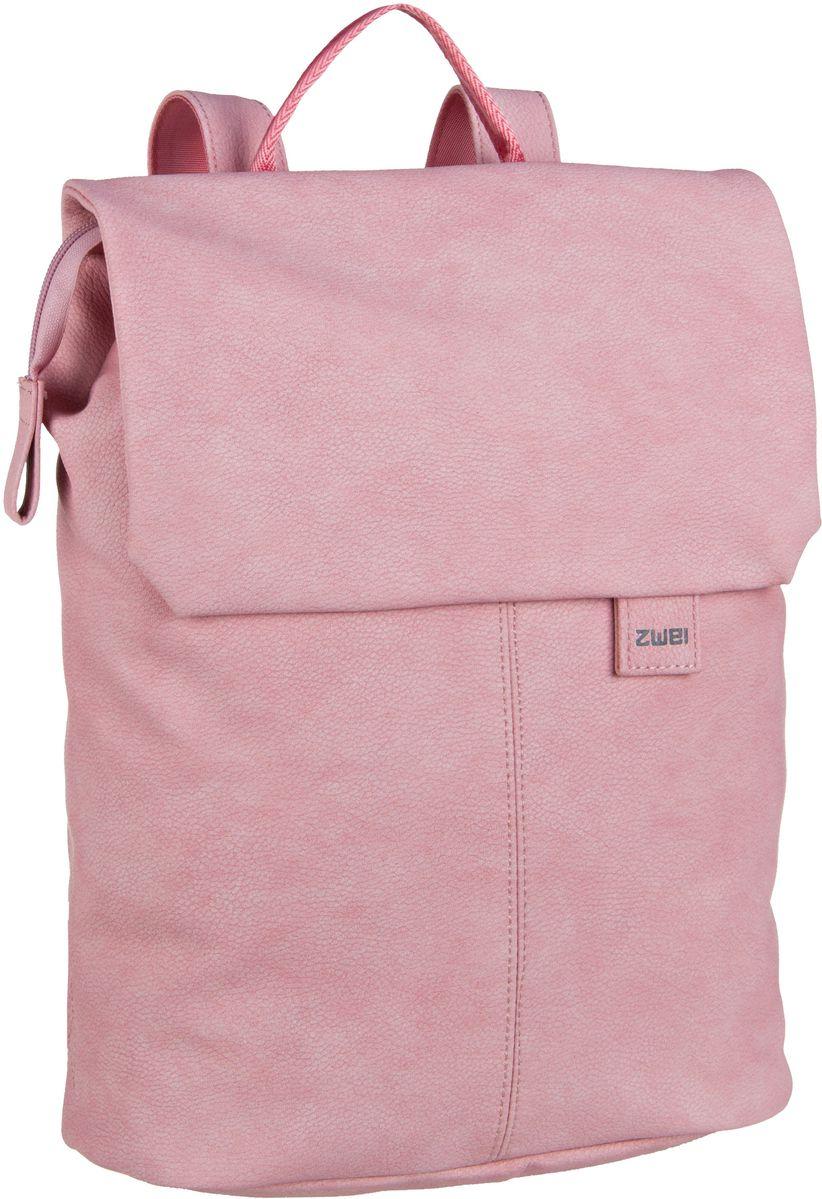 Rucksaecke für Frauen - zwei Laptoprucksack Mademoiselle MR13 Nubuk Rose (6 Liter)  - Onlineshop Taschenkaufhaus