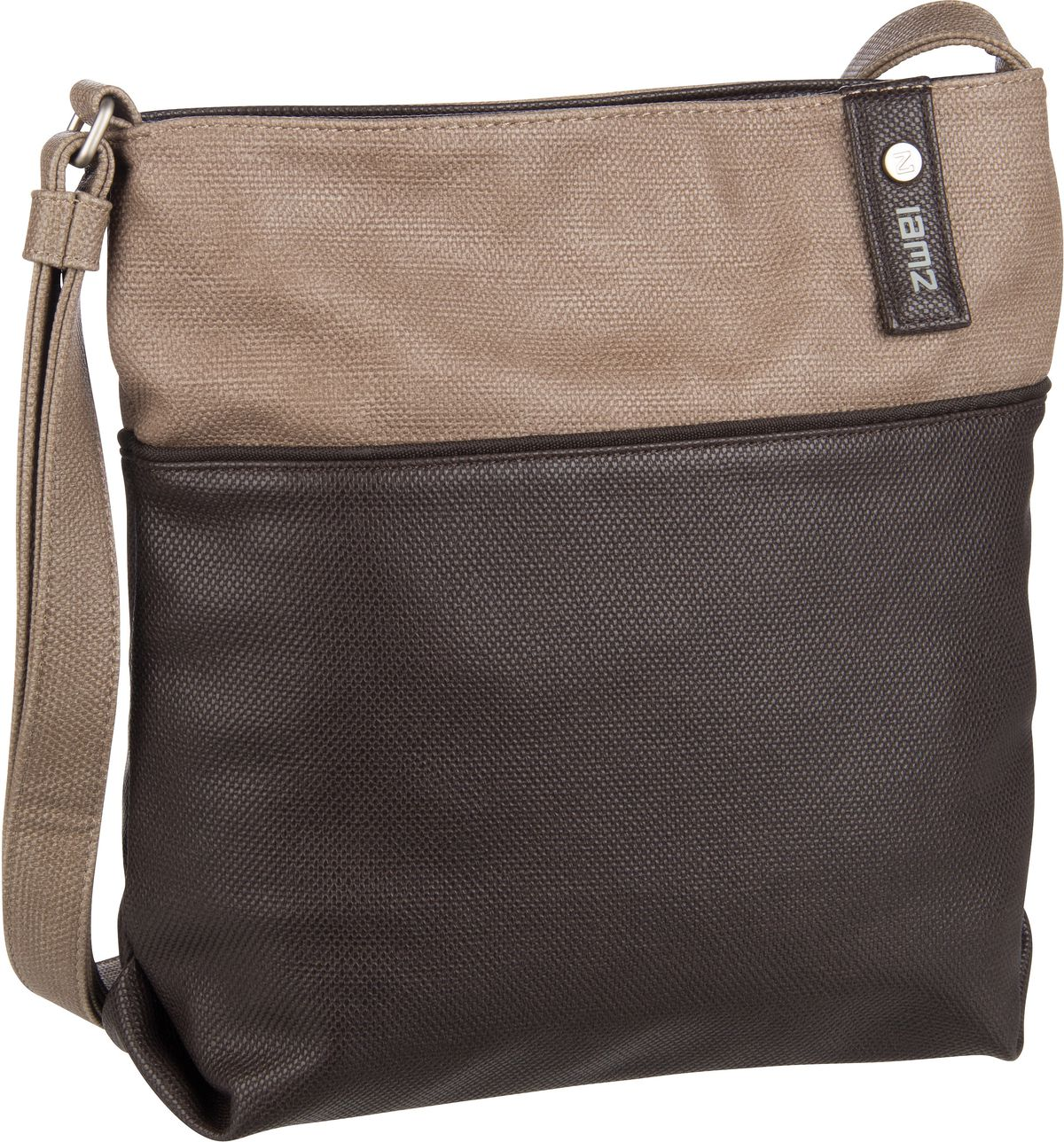 Umhängetasche Jana J10 Canvas/Brown (5 Liter)