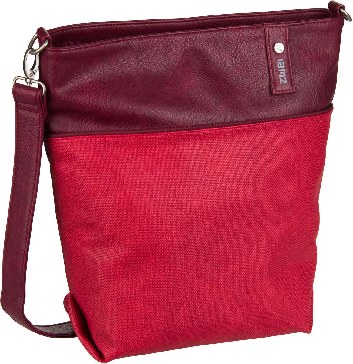 Umhängetasche Jana J12 Canvas/Red (8.5 Liter)