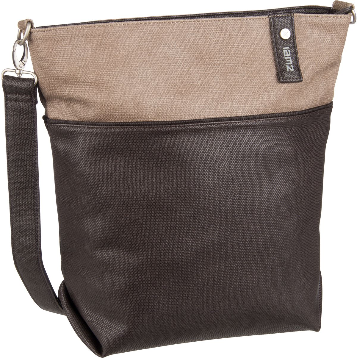 Umhängetasche Jana J12 Canvas/Brown (8.5 Liter)