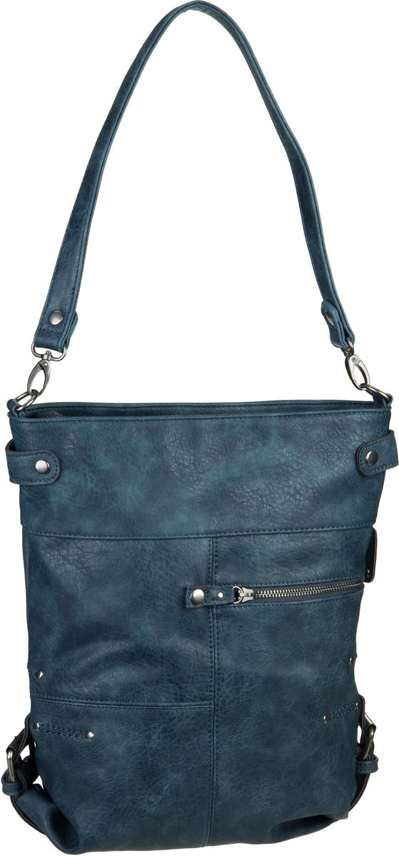 Handtasche Vintage V12 Blue (6 Liter)