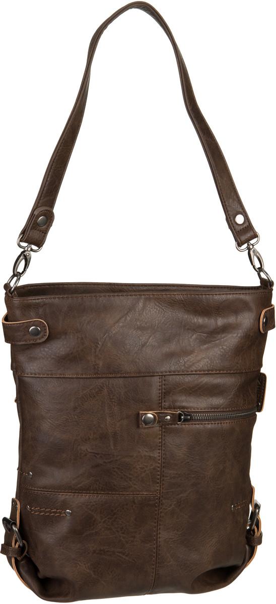 Handtasche Vintage V12 Brown (6 Liter)