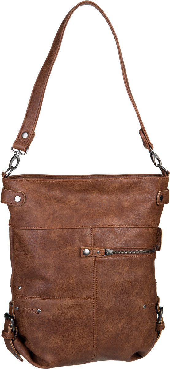 Handtasche Vintage V12 Kamel (6 Liter)