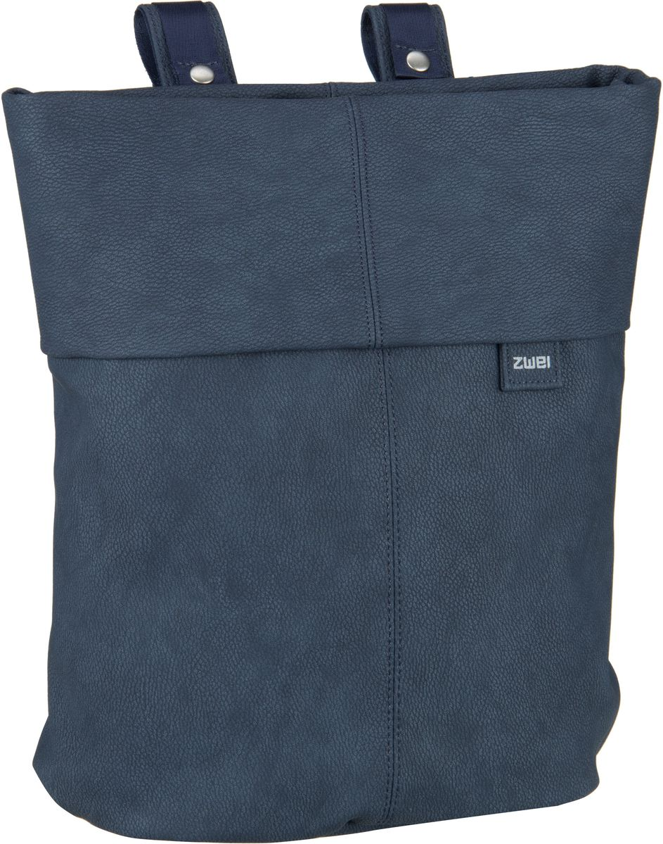 Rucksaecke für Frauen - zwei Laptoprucksack Mademoiselle MR12 Nubuk Blue (8 Liter)  - Onlineshop Taschenkaufhaus